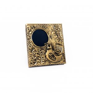 Brass Repousse Photo Frame inspired by Egyptian Folk Art